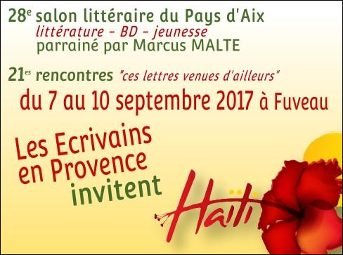 28ème Salon Littéraire du pays d'Aix, Fuveau 2017