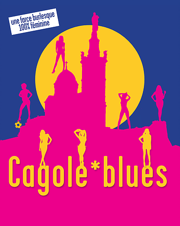 Cagole Blues, Henri-Frédéric Blanc, la pièce
