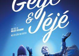 Gégé et Jéjé, spectacle de Gilles Ascaride, avec Gérard Andréani et Gilles Ascaride, affiche