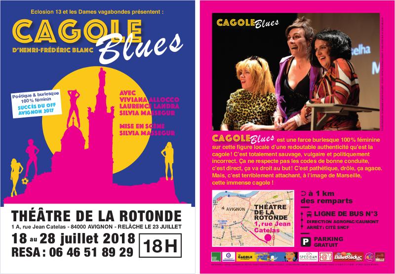 Cagole Blues, de Henri-Frédéric Blanc, Avignon 2018