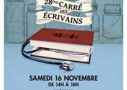 Marseille, 28ème carré des écrivains, samedi 16 novembre 2019