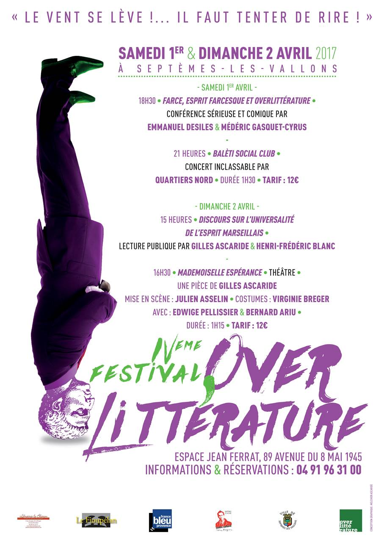 Festival Overlittérature 2017