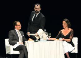 NUIT GRAVEMENT AU SALUT, spectacle adapté du livre de Henri-Frédéric BLANC par Ludovic Laroche